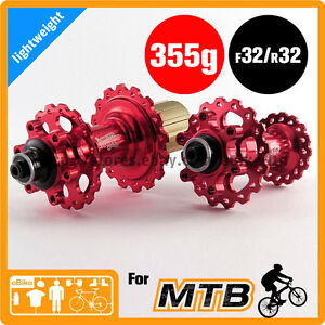 Circus Monkey HDW2 Disc Hub F 32 R 32 H 355g 6 Pawls MTB CNC 6 Bolt F&R set Red