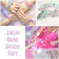 Beading Buds Mississauga Birthday Parties for Girls 5, 6, 7 8