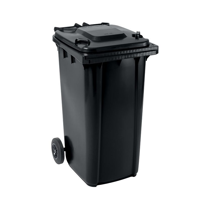 Großmülltonne Mülltonne Abfalltonne Abfallbehälter GMT 240 Liter anthrazit