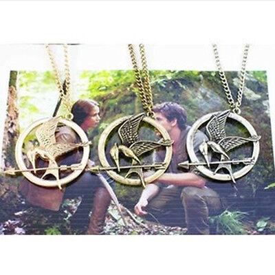 Hunger Games Mockingjay Katniss Pendant Necklace USA SELLER - FAST SHIPPING