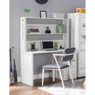 Acme Cargo Desk Hutch In White White Na