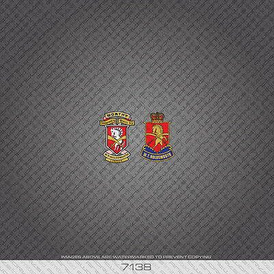 07277 Somec Bicycle Head Badge Stickers Decals Transfer