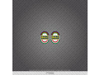 Transfers 07163 Masi Bicycle Head Badge Stickers Decals