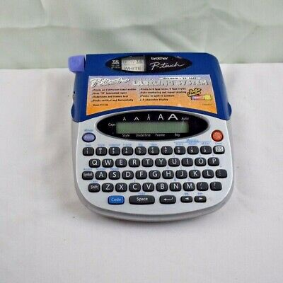 Brother P-touch Pt-1750 Electronic Label Maker Thermal Printer Labeling System