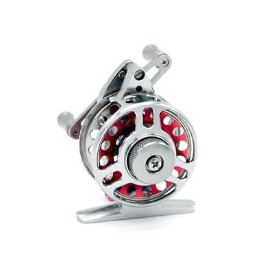 2-1/4 in CNC Machined Aluminum Fly Fishing Reel-4BB,2:1 Multiplier Ice Fishing