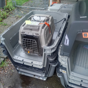 Airline approved Dog crates ($30-80)- local dog rescue
