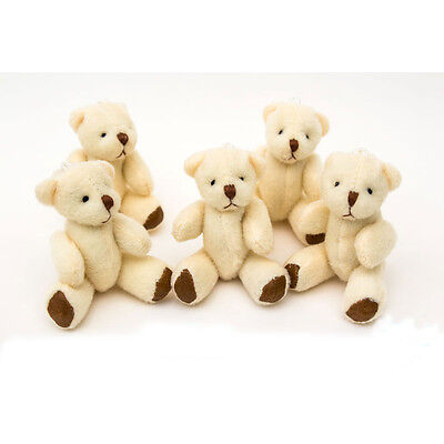 NEW - White Teddy Bears - Small Cute And Cuddly  - Gift Present Birthday Xmas](Small Teddy Bears)