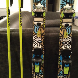 $350.- Complete Package: Skis, Bindings, Poles - great condition