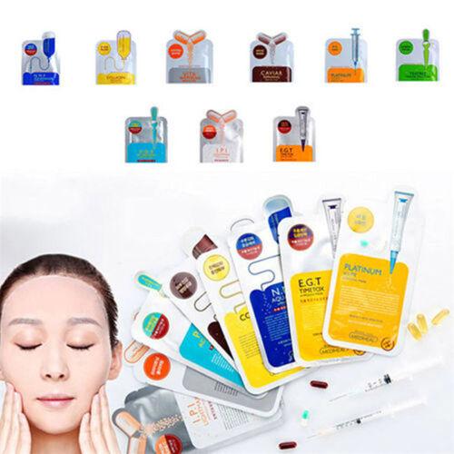 Deep Face Mask Korean Essence Facial Sheet Moisture Pack Ski