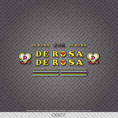 Decal Transfer 0537 Ugo De Rosa Signature Bicycle Sticker