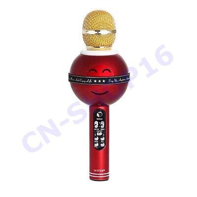 Microfono Senza Fili MEGAFONO SPEAKER Bluetooth Portatile Karaoke Ricaricabile