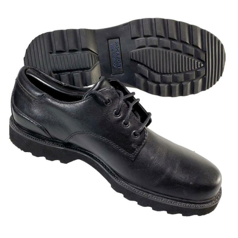 Rockport Northfield Oxford Men's 9 M Waterproof Shoes Black