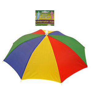 401ba65c603 Foldable Multicolour Novelty Umbrella Sun Hat Golf Fishing Camping ...