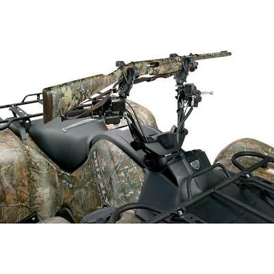 Quad Bike V-Grip Single Handlebar Cushioned Gun Rack ATV