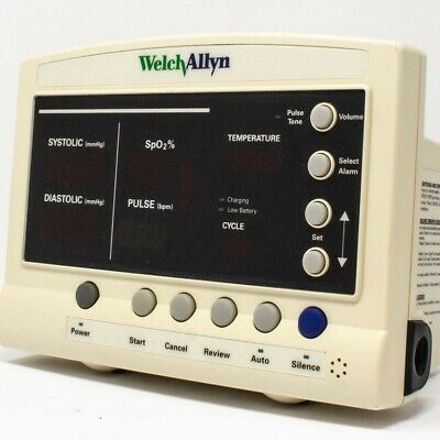 Welch-allyn Series 52000 Protocol Quick Signs Vital Signs Monitor