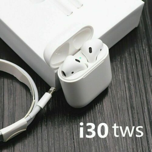 i30 TWS EarPods 2019 Wireless Headphones 6D Bass HD Stereo B