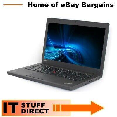 "Laptop Windows - Lenovo Thinkpad T440 i5-4300U 1.9GHz 8GB 180GB SSD 14.1"" Windows 10"