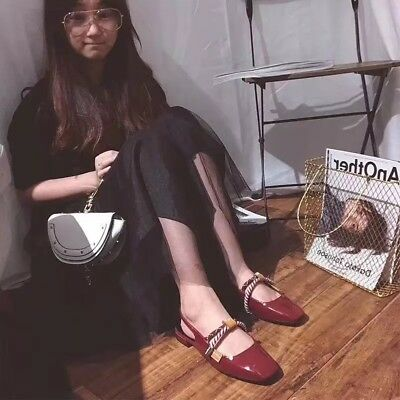 smrn01 Damen Schuhe Designer inspiriert flach Riemchen Sandalen - Inspiriert Flachen Schuh