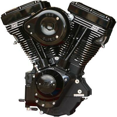 S&S Cycle 310-0828 V111 Complete Engine - Gloss Black Finish