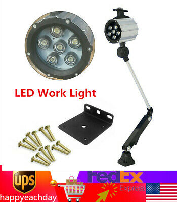 Led Work Light For Cnc Machine Lathe Milling Machine Waterproof Dustproof Light