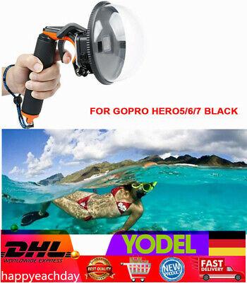 Dome Port Objektiv Unterwasser Tauchen Kamera Objektivdeckel für GoPro Hero5/6/7