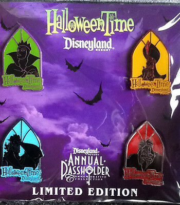 Disneyland Halloween Time Annual Passholder Pins Villains LE 500 Cruella De Vil](Disneyland Halloween Villains)