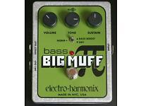 Bass Big Muff - Fuzz by Electro Harmonix Usa