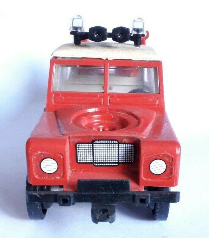 Heller clic clac - land rover fire brigade - pompier - incomplète
