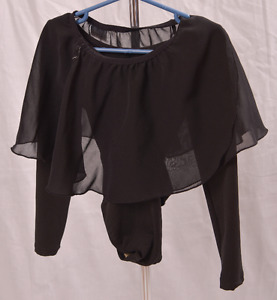 Girls gymnastics or dance outfit.