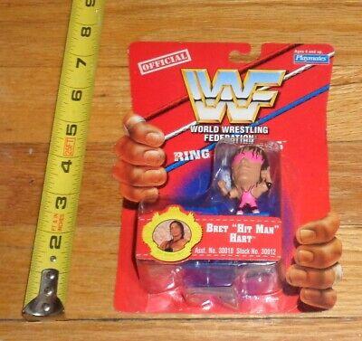 1997 WWF WWE Bret Hitman Hart Ring Masters Wrestling Figure Stampede WCW NWO