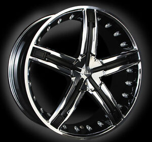 22-INCH-DOLCE-DC30-CHROME-WHEELS-W-BLACK-INSERTS-BRAND-NEW