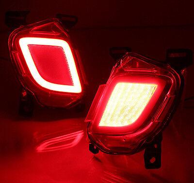 For Toyota Highlander 2014-2017 LED Rear Fog Light Tail Bumper Light Sets