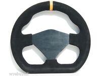 12//C 250mm Suede Track Steering Wheel Single MOMO Mod