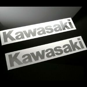 2-Mirror-Chrome-Universal-Kawasaki-Decals-Stickers