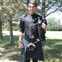 Bagpipes at your event!