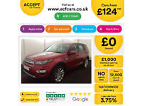 LAND ROVER DISCOVERY SPORT 2.0 TD4 180 HSE BLACK SE TECH 2.2 FROM £124 PER WEEK!
