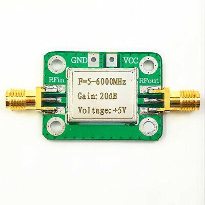 Rf Ultra-wideband Medium Power Amplifier 5m - 6.0 Ghz Gain 20db