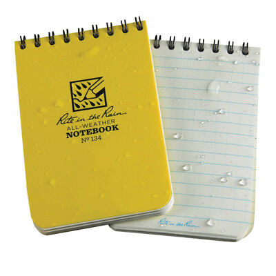 New Rite In The Rain All-weather 3 In. W X 4-12 In. L Spiral Notebook 1 Pk