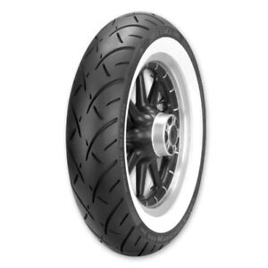 Metzeler ME888 Marathon Ultra 130/90-16 Wide Whitewall Tire Set