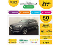 Audi Q7 S Line FROM £77 PER WEEK!