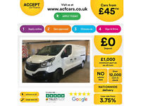 Renault Trafic Business FROM 45 PER WEEK!