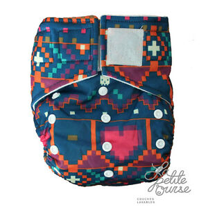 Cloth Diaper with 2 bamboo inserts and FREE delivery 80$+