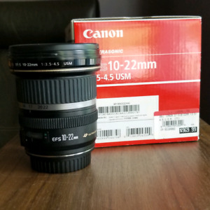 Canon 10-22 mm ef-s usm
