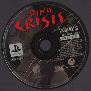 DINO CRISIS FOR PLAYSTATION 1 London Ontario image 2