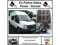 Ford Transit Ex Police Dog Van K9 Unit 6 Large Kennels Crew Cab 7 Seats A/C FANs