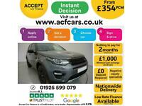 2015 GREY LAND ROVER DISCOVERY SPORT 2.2 SD4 HSE LUXURY CAR FINANCE FR £354 PCM