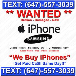 iPhone ** icloud locked **  !!! Samsungs,  Cracked / New - *