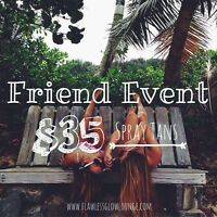 BRING A FRIEND EVENT II ALL NATURAL SPRAY TANNING