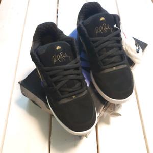 Nike SB Paul Rodriguez 2 skate shoes black/gold NWB size 10.5