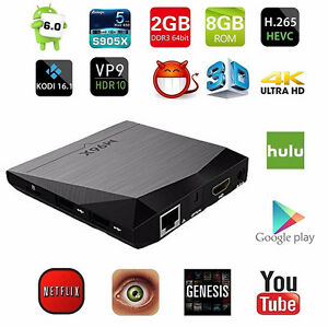 Brand New Android 6.0 64 Bit TV Box - 2 Year Warranty